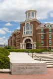 Doak Walker Plaza and Armstrong Commons at Southern Methodist Un Royalty Free Stock Photos
