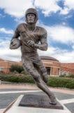 Doak-Wandererskulptur auf dem Campus des südlichen Methodisten Univer stockfotografie