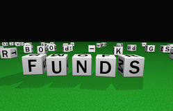 Dobbel fondsen stock illustratie