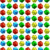 Dobbel patroon stock illustratie