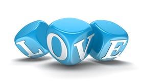 Dobbelt en liefde (het knippen inbegrepen weg) Stock Foto