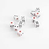 Dobbelt van casino Royalty-vrije Stock Fotografie