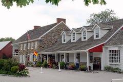 Dobbin-Haus-Taverne mit Gettystown Gasthaus Stockbild