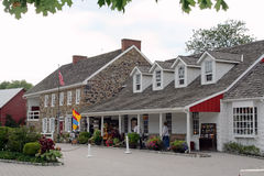 Dobbin House Tavern with Gettystown Inn. The Dobbin House Tavern with Gettystown Inn was built in 1776 in Gettysburg, Pennsylvania. It survived a pivotal battle stock image