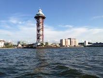 Dobbins die, Tweehonderdjarige Toren, de PA van Erie landen Royalty-vrije Stock Foto