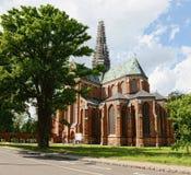 Doberan大教堂(德国) 免版税图库摄影