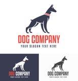 Doberman-Logos copy Stock Image