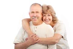 dobiera się starsze osoby Fotografia Stock