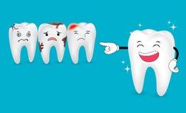 Dobieranie ząb Obrazy Royalty Free