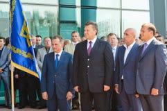 dobkin michail Viktor yanukovich zdjęcie stock