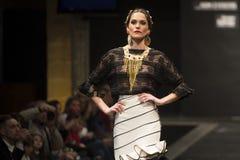 Doble B montra la raccolta a Pasarela Flamenca Jerez 2015 Fotografie Stock