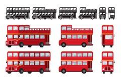 Doble Decker Bus, atracción turística de Londres stock de ilustración