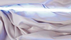 Doble el material y la luz de materia textil metrajes