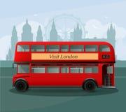 Doble realista Decker Bus Illustration de Londres libre illustration
