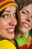Doble Smile Royalty Free Stock Photo