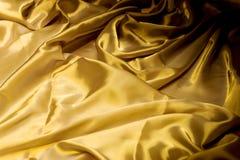 Dobleces arrugados u ondulados del fondo abstracto de la textura de la tela Foto de archivo libre de regalías