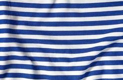 Doblez de la ropa del marinero Foto de archivo