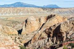 Doblez de Waterpocket de Utah imágenes de archivo libres de regalías