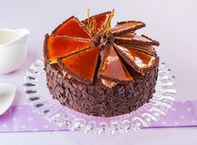 Dobos cake Royalty Free Stock Photography