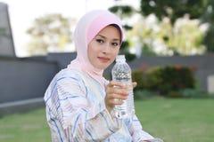 Dobra dla zdrowie napój woda mineralna - Obraz Stock