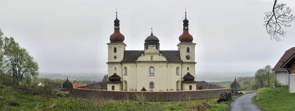 Dobra voda - kostel Panny Marie Dobre Rady Royalty Free Stock Photography