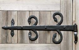 Dobradiça de porta decorativa Imagem de Stock