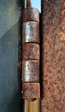 Dobradiça oxidada fotos de stock royalty free