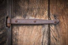 Dobradiça oxidada Foto de Stock