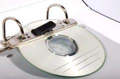 Dobrador CD Imagem de Stock Royalty Free