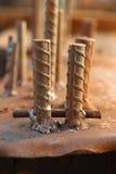 Dobrador de barra do close up Foto de Stock Royalty Free