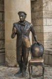 Dobrador de Ostap da escultura antes do lago Proval, Pyatigorsk, Russi Fotos de Stock