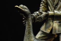Dobrador exclusivo de Ostap da xadrez Fotografia de Stock
