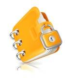 Dobrador fechado Imagem de Stock Royalty Free