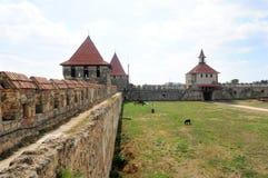 Dobrador, Transnistria: Fortaleza Cetatea Tighina de Bendery em Transnistria Imagem de Stock Royalty Free