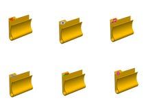 Dobradores Imagem de Stock