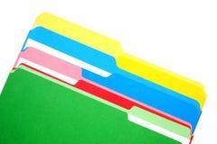 Dobradores coloridos quatro cores Foto de Stock