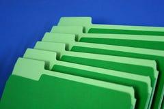 Dobradores de arquivo Fotografia de Stock