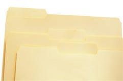 Dobradores de arquivo Imagem de Stock