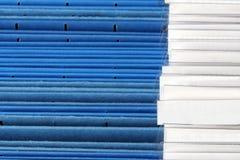 Dobradores de arquivo Imagens de Stock