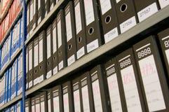 Dobradores de arquivo Fotografia de Stock Royalty Free