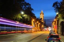 Dobranoc Edynburg Zdjęcia Royalty Free