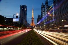 Dobranoc Tokio Fotografia Stock