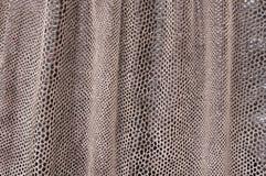 Dobras de uma pele artificial Foto de Stock Royalty Free