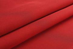 Dobras do pano vermelho Imagens de Stock