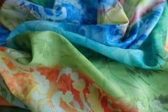 Dobras macias da tela chiffon fina fotos de stock royalty free