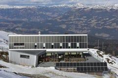 Dobratsch-Gipfel-Haus, Kärnten, Österreich Lizenzfreie Stockfotos