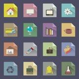 Dobre o app de papel Imagens de Stock Royalty Free