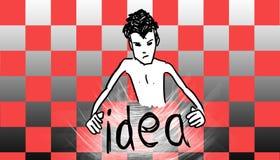 Dobrego pomysł ilustracji