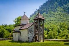 The Dobrilovina old monastery Stock Images