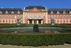 Dobris castle. Czech rococo castle in Dobris built 1745-1765 Stock Photos